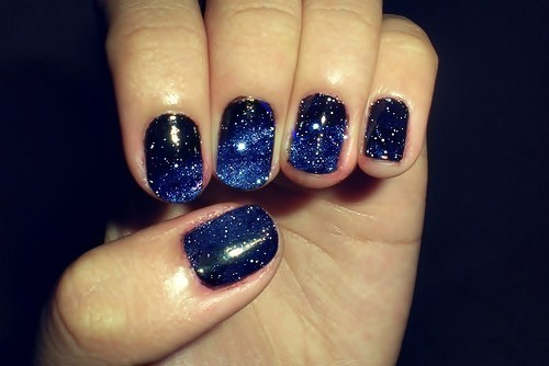Glistening Polished Galaxy Look