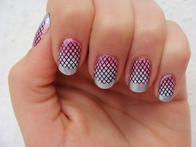 Pink Tiny Cute Check Print