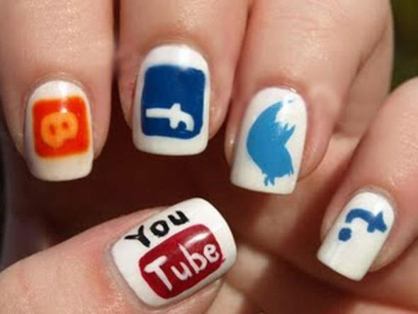 Social Media Craze on your Finger Nails